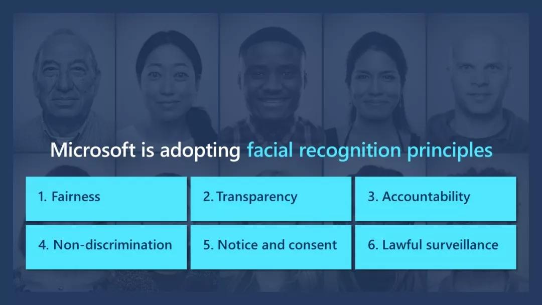 微软人脸识别研究工作遵循的6大原则