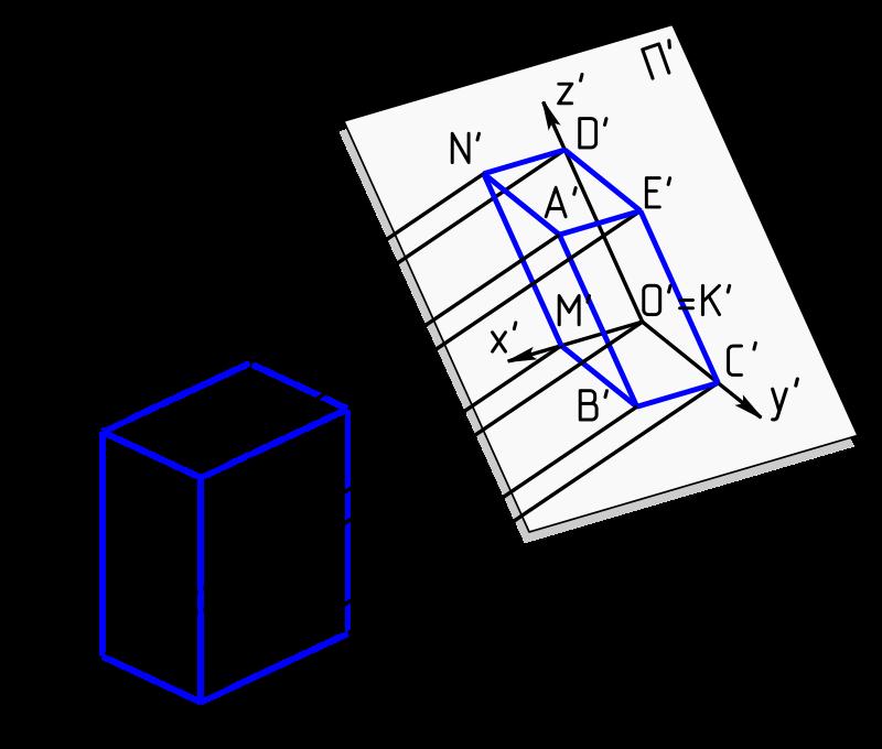 轴测投影图